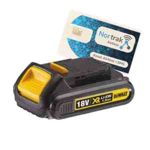 ToolGuard® Battery tracking device