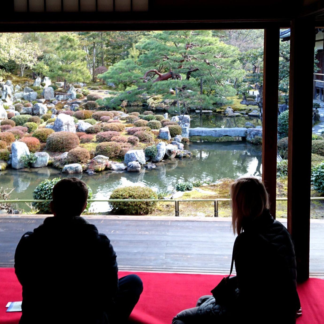 Garden at Toji, Kyoto
