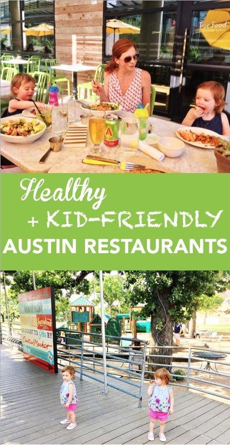 healthy + kid friendly austin restaurants