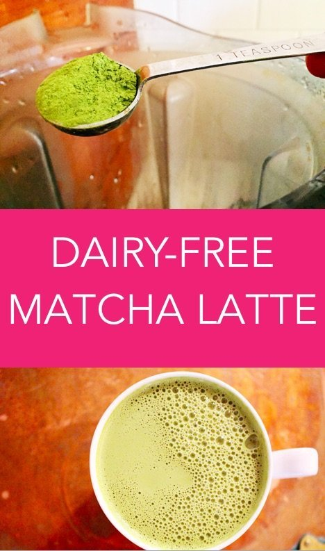 dairy-free matcha latte