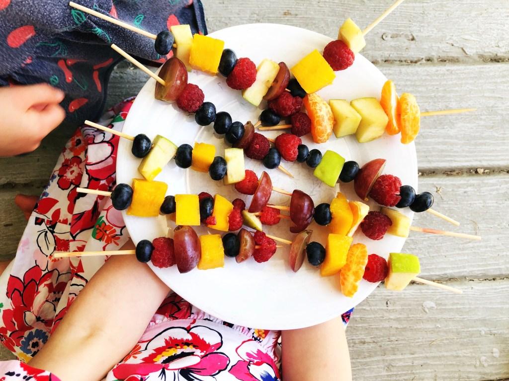 rainbow fruit pops