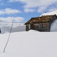 På ski over Hardangervidda