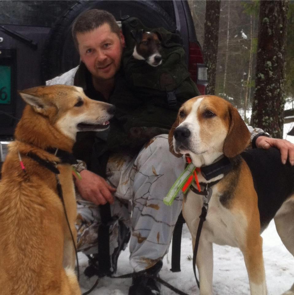 Klokkerstuen hunder og Sten Erik