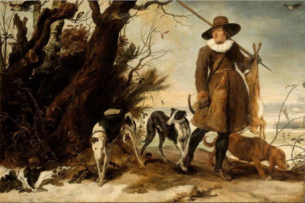 Jan Van Wildens jakt med hunder