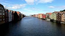 Trondheim's Famous Riverfront