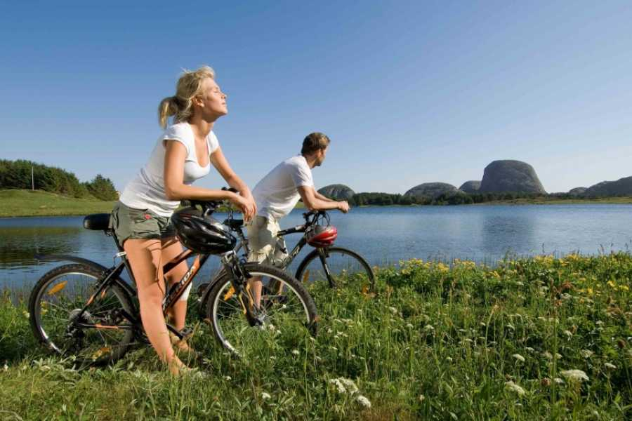 Bike to the fjord and coast of Norway