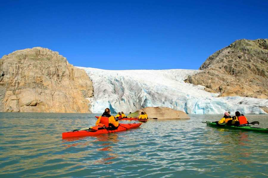 Kayaking in Rosendal