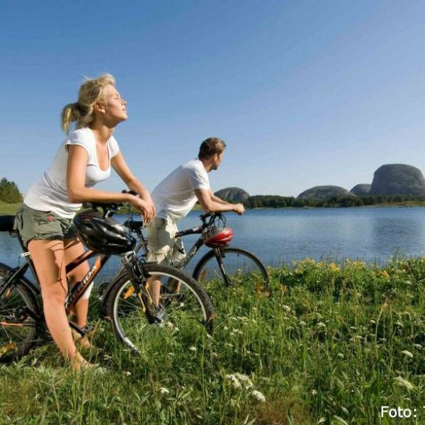 Coastal biking in Norway
