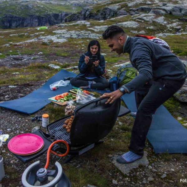 Cooking on Trolltunga