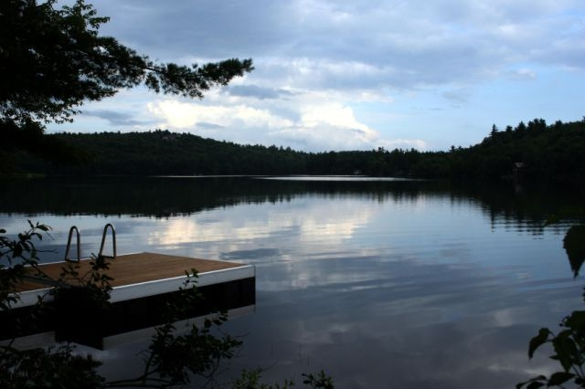 Hobbs Pond in the summer, Norway, Maine