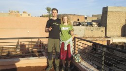 Couple stopped at Maroccan border