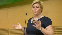 Finance Minister Siv Jensen