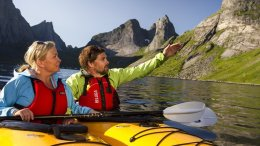 Lofoten is a kayaking paradise