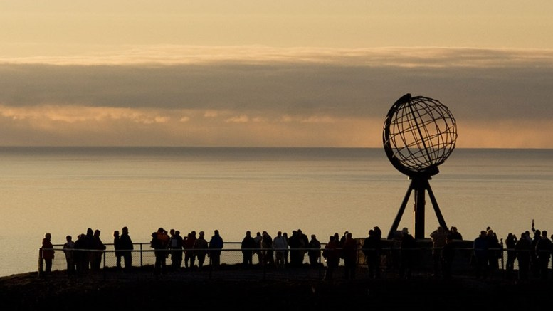 Nordkapp.The end of the world