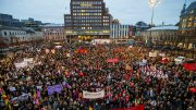 Thousands of Oslo people took to the streets on International Women's Day