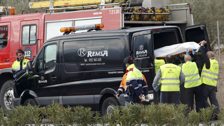 13 young women killed in bus accident in Spain
