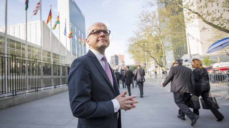 Minister of Climate and Environment Vidar Helgesen
