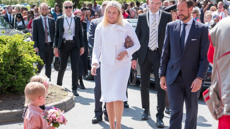 The Crown Prince couple celebrated Grimstad