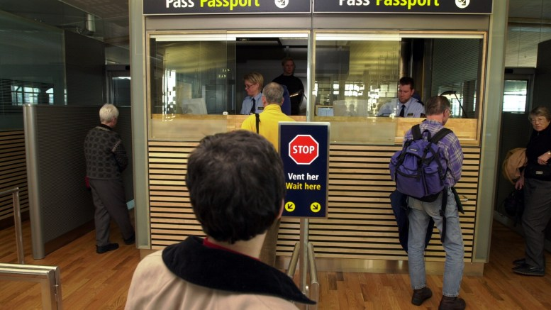 Hour Long queue at passport control in Gardermoen