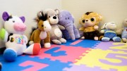 Children's play room at the emergency room at Teisen