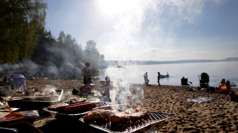 Norwegians grill habits