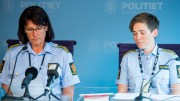 Police Kari-Janne Lid (L), head of the Section for sexual offenses, and police attorney Lene Hammersland.