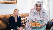 Minister Sylvi Listhaug visit Lativ family and marks the Pakistan's national day.