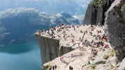 Pulpit Rock- tourists