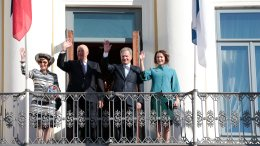 King Harald and Queen Sonja