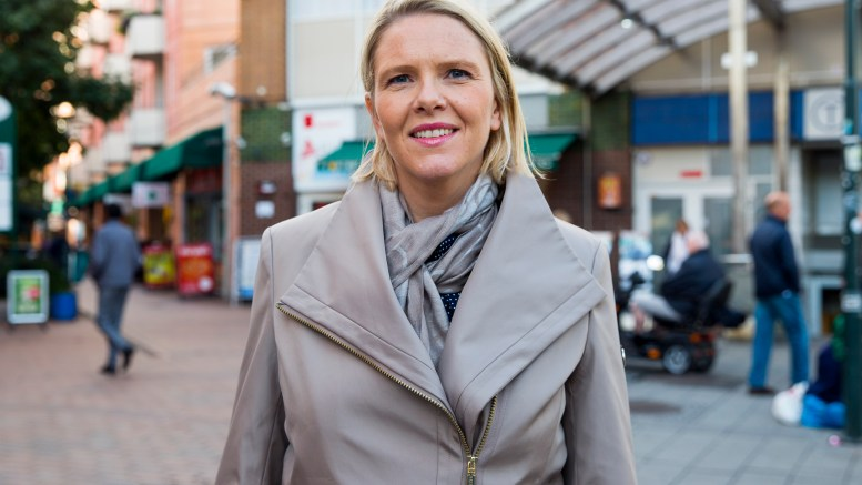 Minister of Immigration and Integration Sylvi Listhaug ( Progress Party )