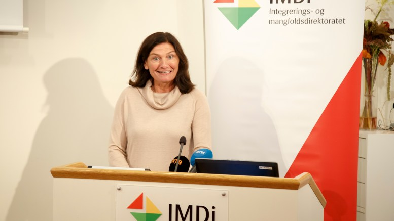 Director Libe Rieber-Mohn in the integration and diversity IMD
