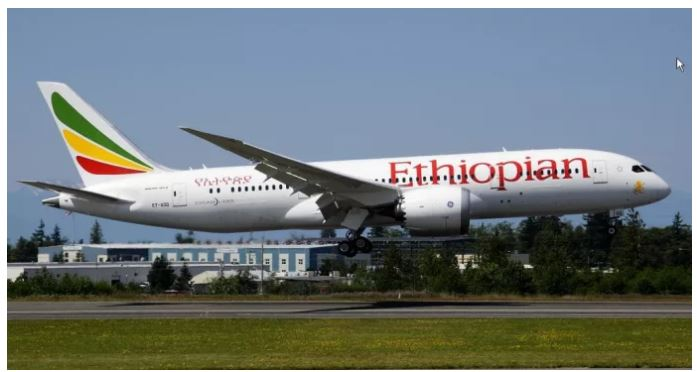 Ethiopian Airlines will arrive Oslo Airport with their Boeing 787-8 Dreamliner.