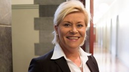 Finance Minister Siv Jensen, Brighter times ahead