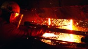 Steel smelting plant in Mo i Rana