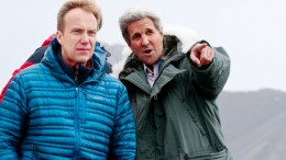 Foreign Minister Børge Brende and John Kerry