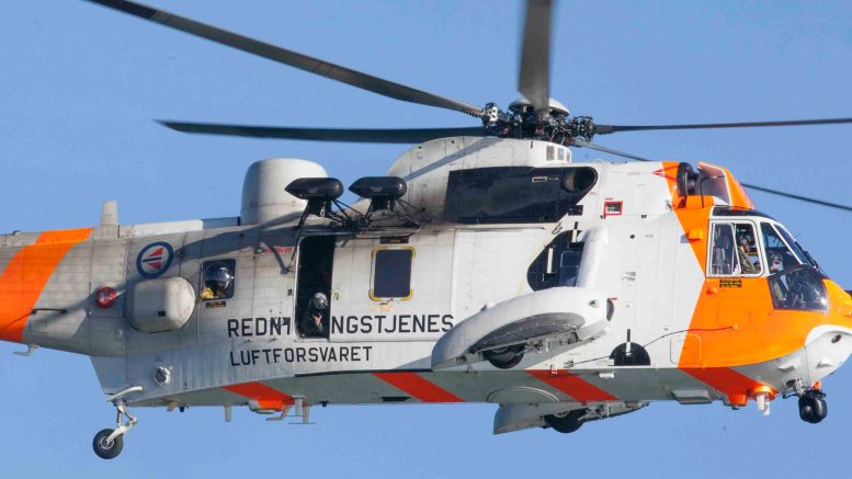 Sea King helicopter