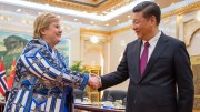Prime Minister Erna Solberg meets Chinese President Xi Jinping