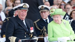 King Harald and Queen Elizabeth