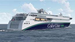 Color Line Rolls-Royce ferry