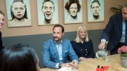 Crown Prince Haakon and Crown Princess Mette-Marit