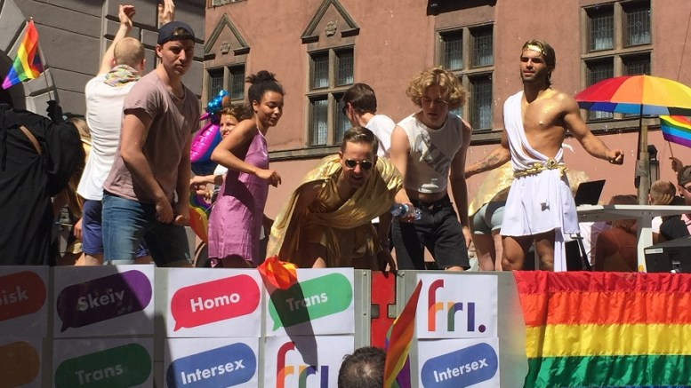 Pride parade in Oslo Saturday