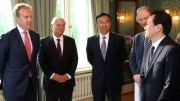 Foreign Minister Børge Brende and China's Vice Minister of Foreign Affairs Wang Chao