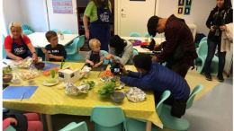 A Bergen kindergarten seafood preparation impressed the Thai media