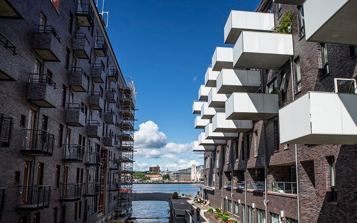 Housing in Sørengkaia in Oslo
