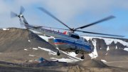 Helicopter MI-8 Barentsburg Crash