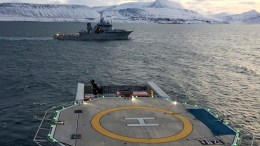 Search for crashed helicopter in Svalbard