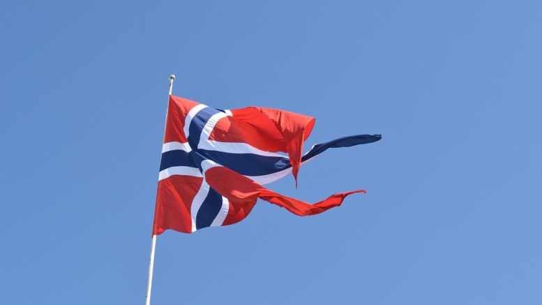Norwegian flag Norway