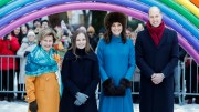 Queen Sonja, Princess Ingrid Alexandra, Duchess Kate and Prince William