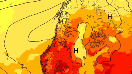 heat wave May southern Norway stormgeo