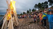 Midsummer's Eve Celebrations in Oslo